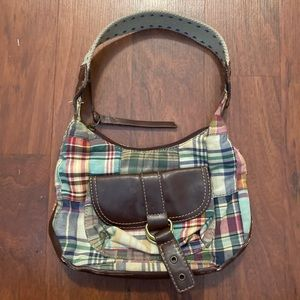 Tommy Hilfiger plaid mini purse